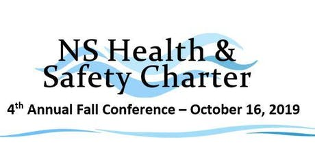 NS Health & Safety Charter - 4th Annual Fall Conference tickets