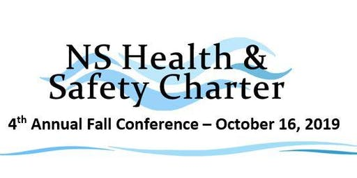 NS Health & Safety Charter - 4th Annual Fall Conference