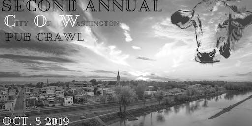 2nd Annual C.O.W Pub Crawl for United Way