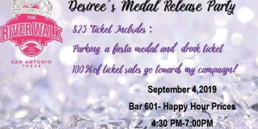Medal Release Party