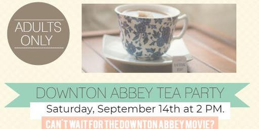 Downton Abbey Tea and Trivia Party