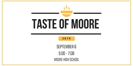 Taste of Moore tickets