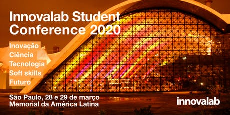 InnovaLab Student Conference Brazil 2020 ingressos