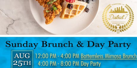 District 7 Sunday Brunch & Day Party tickets
