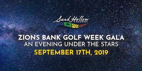 Zions Bank Golf Week Gala tickets