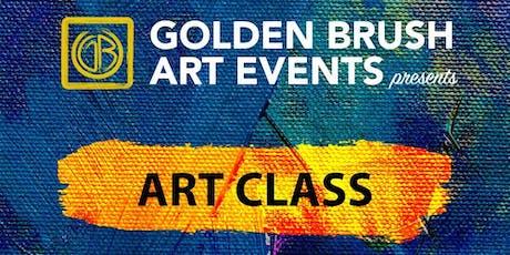 GOLDEN BRUSH: ART CLASS tickets