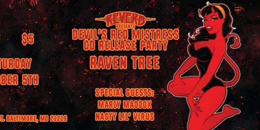 Raven Tree release party w/ Marzy Maddox and Nasty Lil' Virus