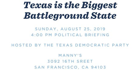 Texas is the Biggest Battleground State tickets