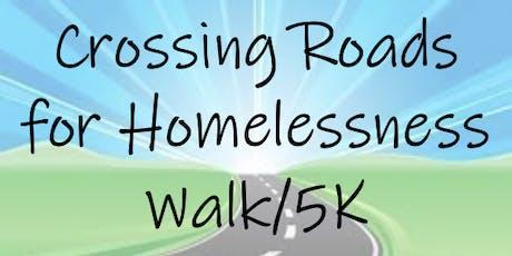 Crossing Roads for Homelessness Walk/Run tickets