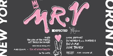 MR. V (Defected Records) @ One Loft tickets