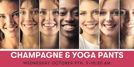 Champagne & Yoga Pants tickets