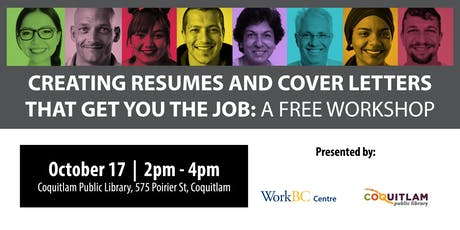 Creating Resumes & Cover Letters That Get You The Job: A Free Workshop tickets