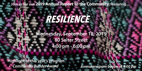SEED Winnipeg's Annual Report to the Community 2019 tickets