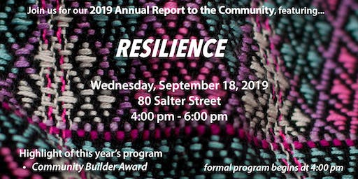 SEED Winnipeg's Annual Report to the Community 2019
