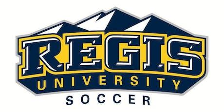 Regis University Men's Soccer vs. UCCS tickets
