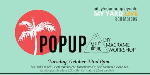 DIY Macrame PopUp Workshop
