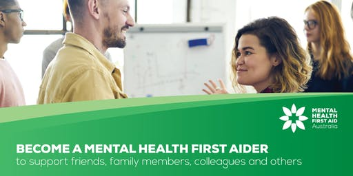 Mental Health First Aid (2 days) - 14 & 15 Oct - South Perth