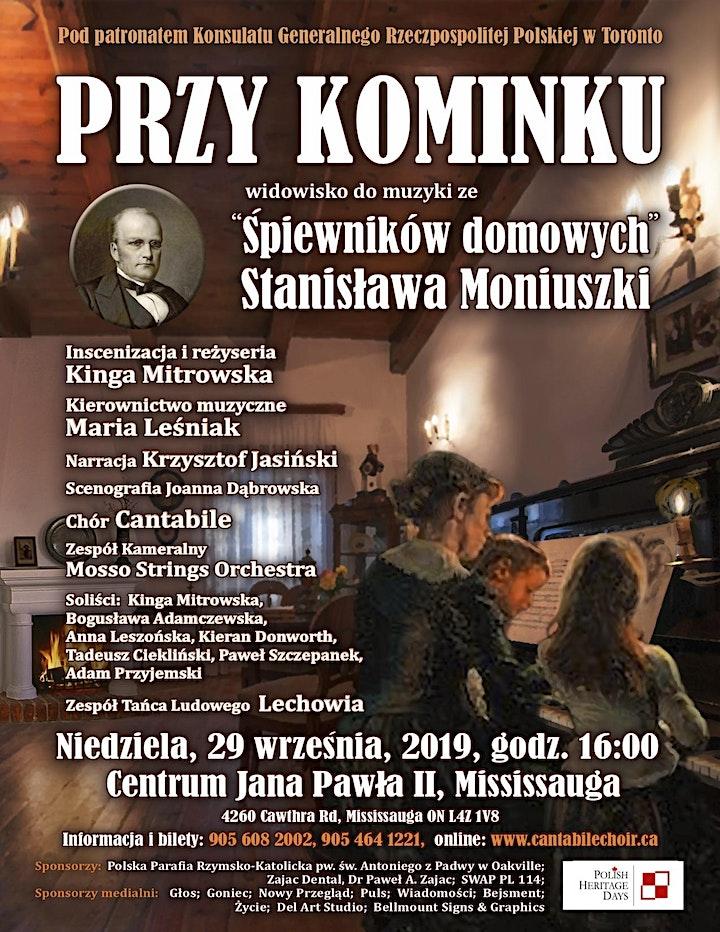 Przy Kominku -  A celebration of Stanisław Moniuszko image