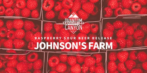 Johnson's Farm Raspberry Sour Beer Release