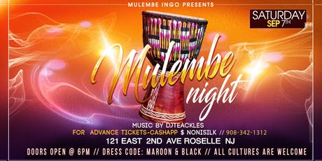 Mulembe Night 2019 NJ tickets
