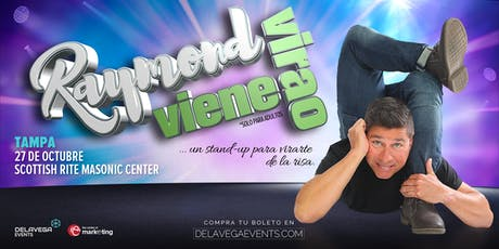 Raymond Viene Virao Tampa FL (Stand Up Comedy - Solo Para Adultos)  tickets