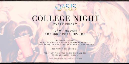 College Night Party Shuttle & Skip Line Registration