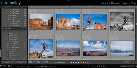 Lightroom Classic Essentials Part 1 with Kate Hailey tickets