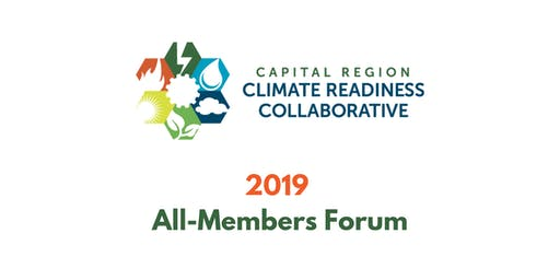Capital Region Climate Readiness Collaborative - 2019 Annual Members Forum