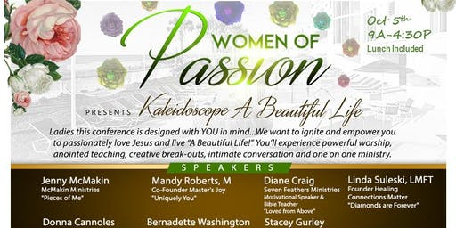 Women of Passion Present Kaleidoscope...A Beautiful Life!