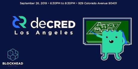 LA's Inaugural Decred Meetup tickets