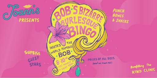 *BOB*s Bizarre Burlesque Bingo