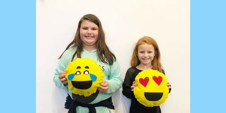 Pajama Party and Pizza: Emoji Pillows! tickets