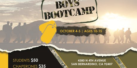 SoCal Boys Bootcamp tickets