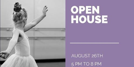 Dance Studio Open House tickets