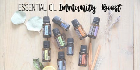 Essential Oil Immunity Boost - Rollerball Make & Take tickets