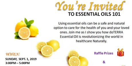 doTERRA Essential Oil Class tickets
