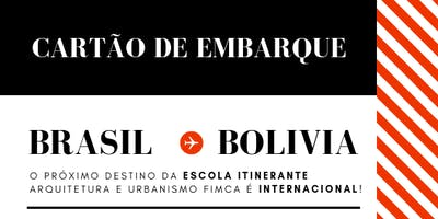ESCOLA ITINERANTE BRASIL-BOLIVIA