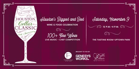 Genesys Works Houston Cellar Classic 2019 tickets