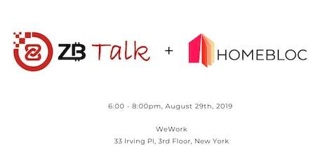 ZB Talk + Homebloc tickets