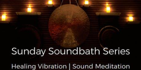 Sunday Soundbath Series tickets