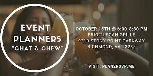 Event Planners Chat and Chew