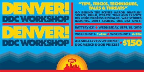 """DENVER DDC WORKSHOP: """"Tips, Tricks, Techniques, Tales & Threats"""" tickets"""