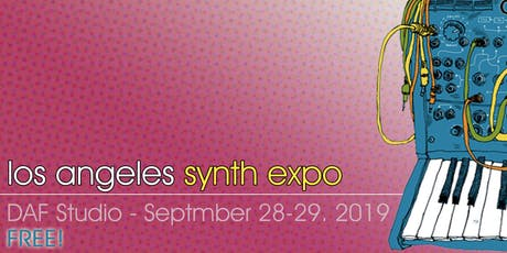 Los Angeles Synth + Modular Expo 2019 - FREE! tickets