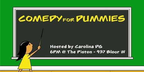 Comedy For Dummies tickets