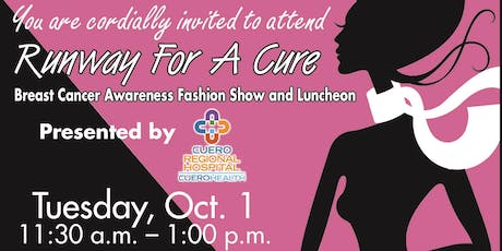 Runway for a Cure: Breast Cancer Fashion Show and Luncheon tickets