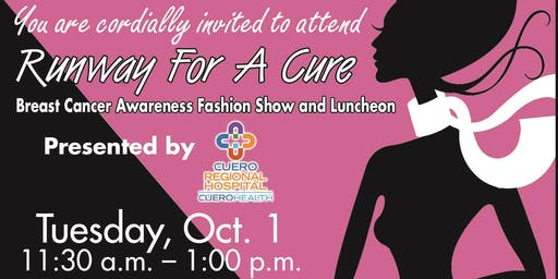 Runway for a Cure: Breast Cancer Fashion Show and Luncheon