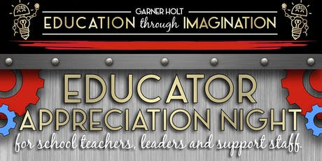 Educator Appreciation Night tickets