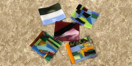 "Glass Fusing Workshop – Create a Sushi Plate 4""x 6"" tickets"