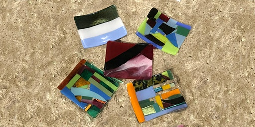"Glass Fusing Workshop – Create a Sushi Plate 4""x 6"""