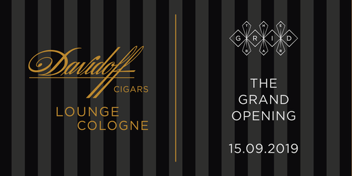 Grand Opening - Davidoff Lounge Cologne